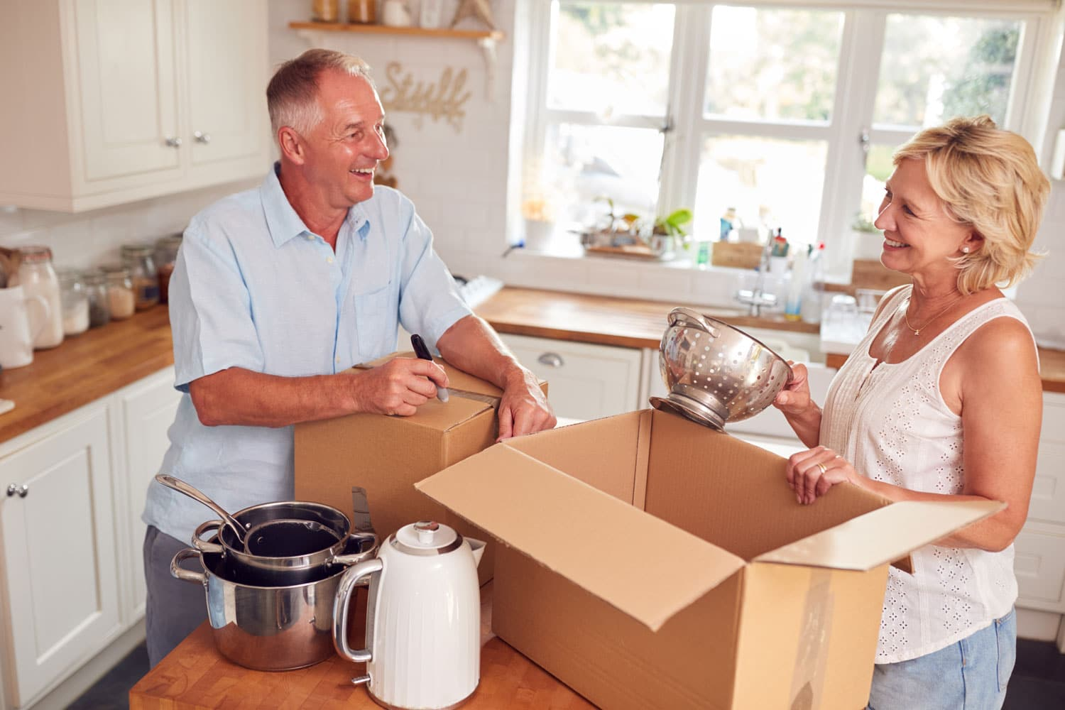 Tips for a Move when Downsizing